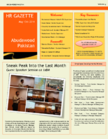 Newsletter-Vol 15- May 2014